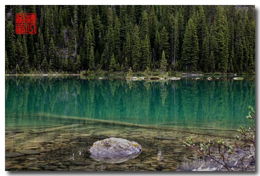 《原创摄影》:湖光山色落基行 - Lake O'Hara_图1-2