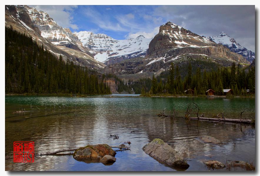 《原创摄影》:湖光山色落基行 - Lake O'Hara_图1-4