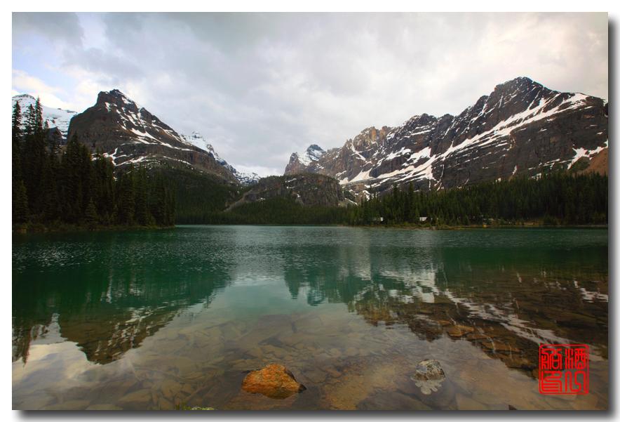《原创摄影》:湖光山色落基行 - Lake O'Hara_图1-5