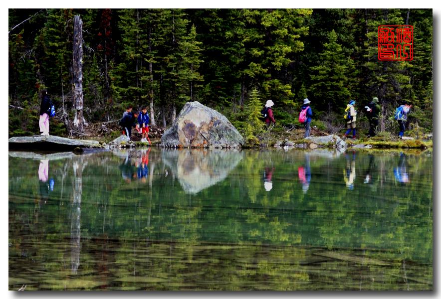 《原创摄影》:湖光山色落基行 - Lake O'Hara_图1-12