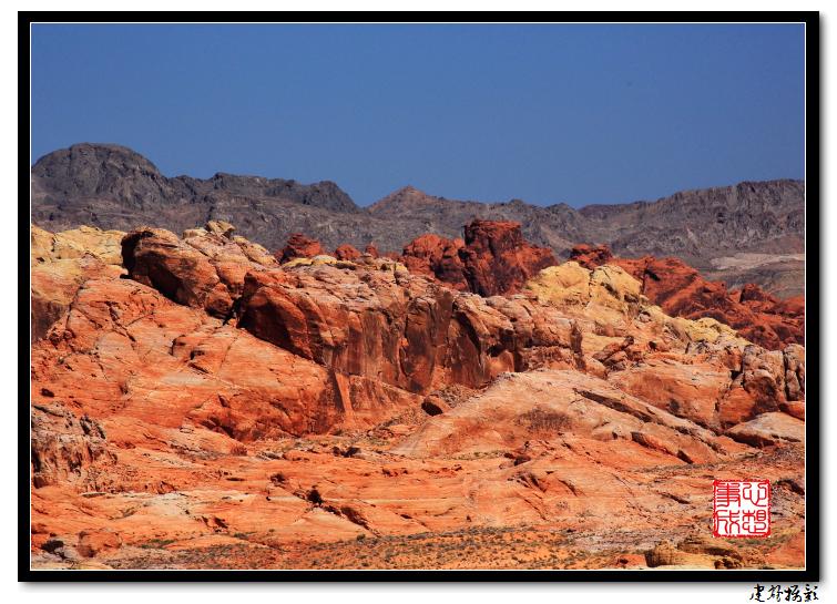 【心想事成】Valley of Fire 火焰谷州立公园_图1-43