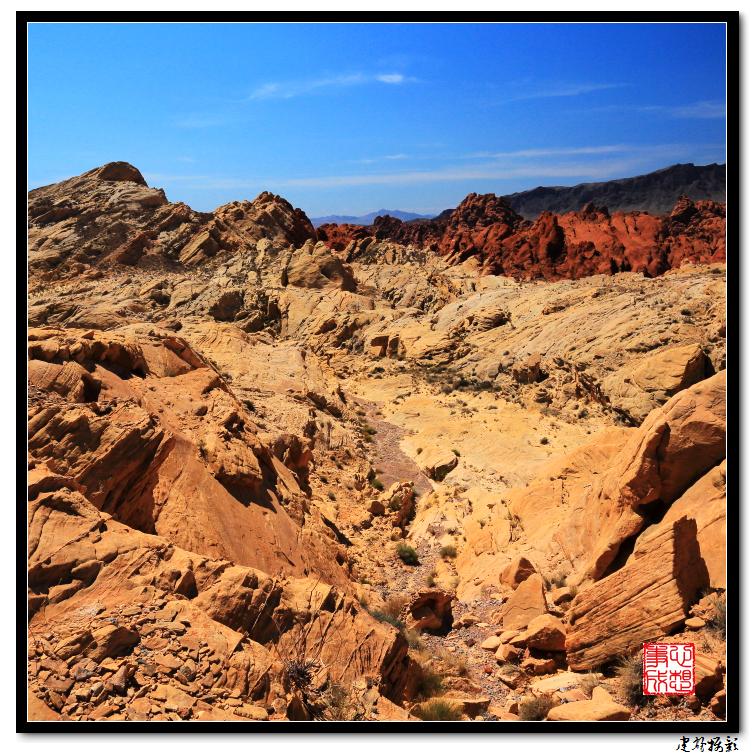 【心想事成】Valley of Fire 火焰谷州立公园_图1-46