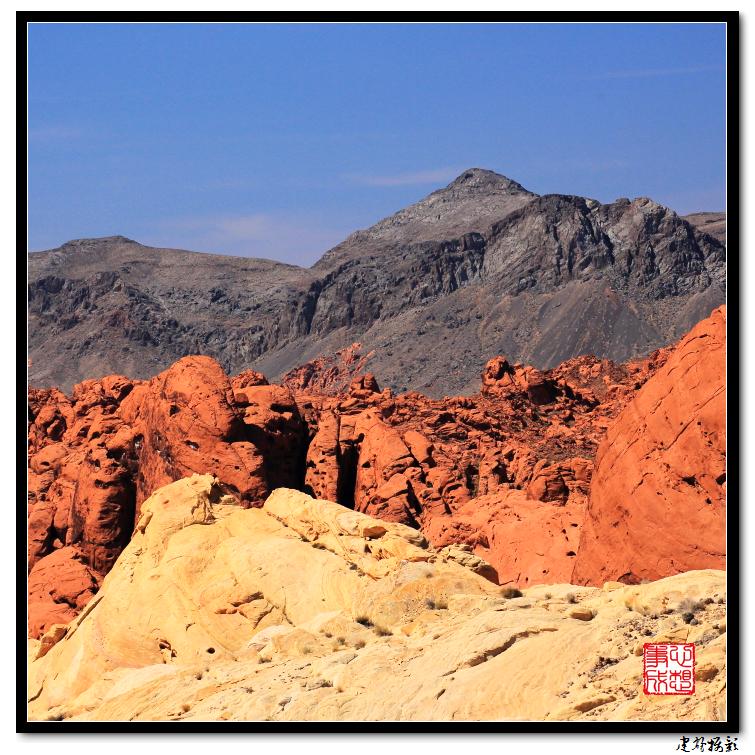 【心想事成】Valley of Fire 火焰谷州立公园_图1-47