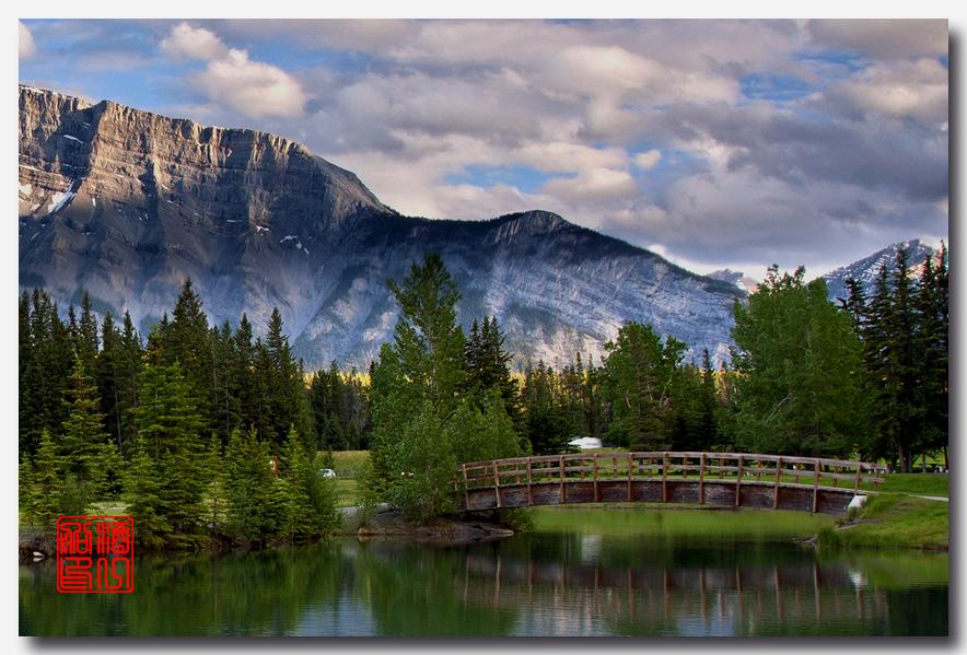 《原创摄影》:湖光山色落基行 - Banff 城边的湖_图3-3