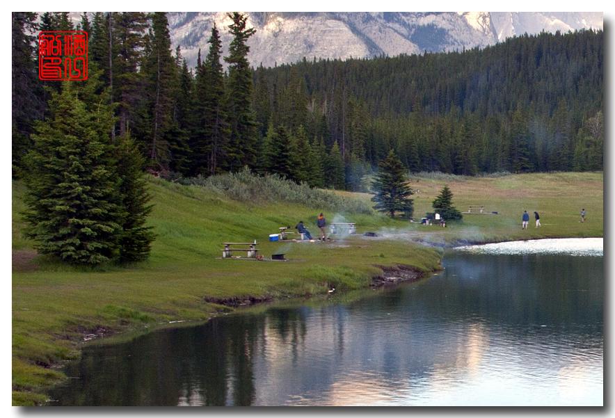 《原创摄影》:湖光山色落基行 - Banff 城边的湖_图3-6