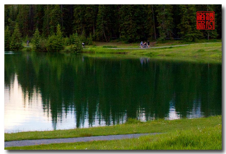 《原创摄影》:湖光山色落基行 - Banff 城边的湖_图3-7