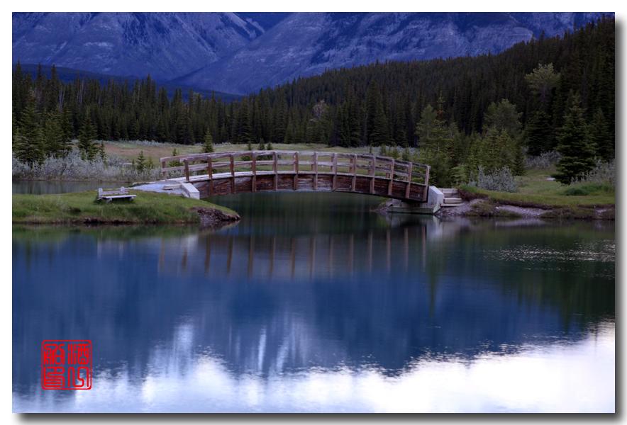 《原创摄影》:湖光山色落基行 - Banff 城边的湖_图3-12