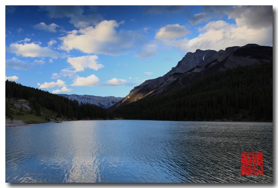 《原创摄影》:湖光山色落基行 - Banff 城边的湖_图3-8