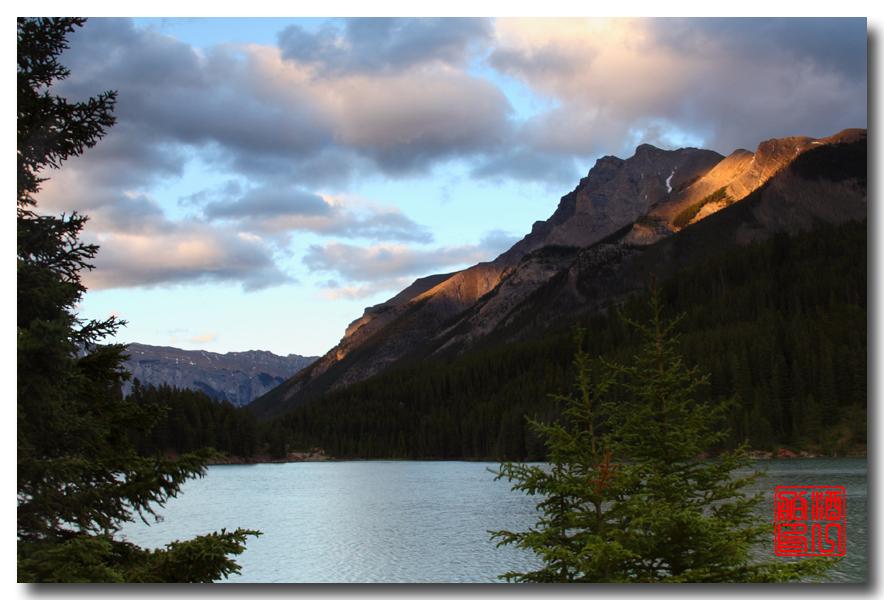 《原创摄影》:湖光山色落基行 - Banff 城边的湖_图3-9