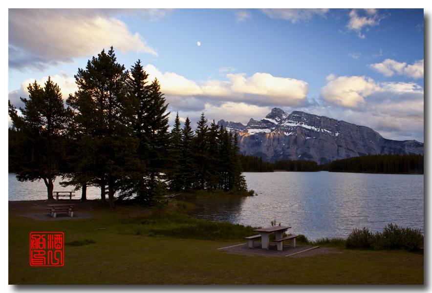 《原创摄影》:湖光山色落基行 - Banff 城边的湖_图3-10