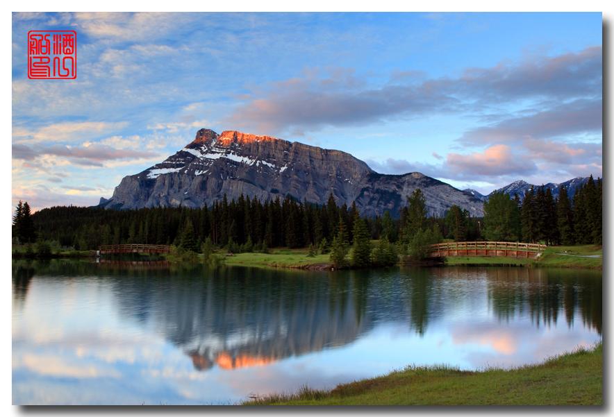 《原创摄影》:湖光山色落基行 - Banff 城边的湖_图3-13