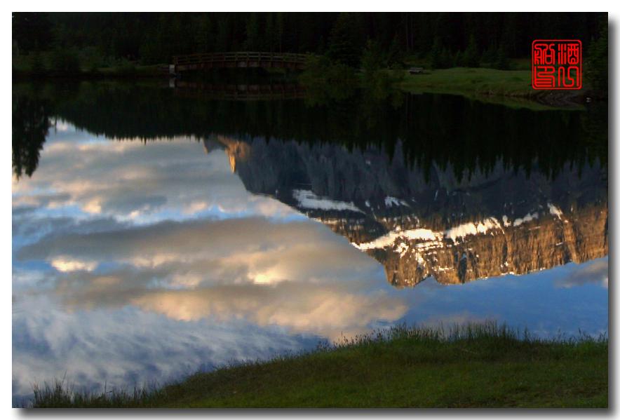 《原创摄影》:湖光山色落基行 - Banff 城边的湖_图3-14