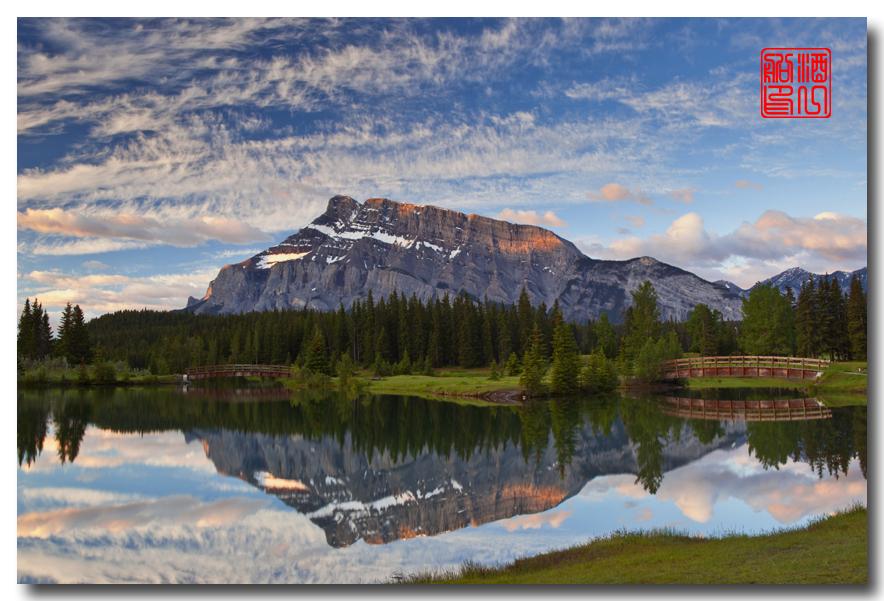 《原创摄影》:湖光山色落基行 - Banff 城边的湖_图3-15