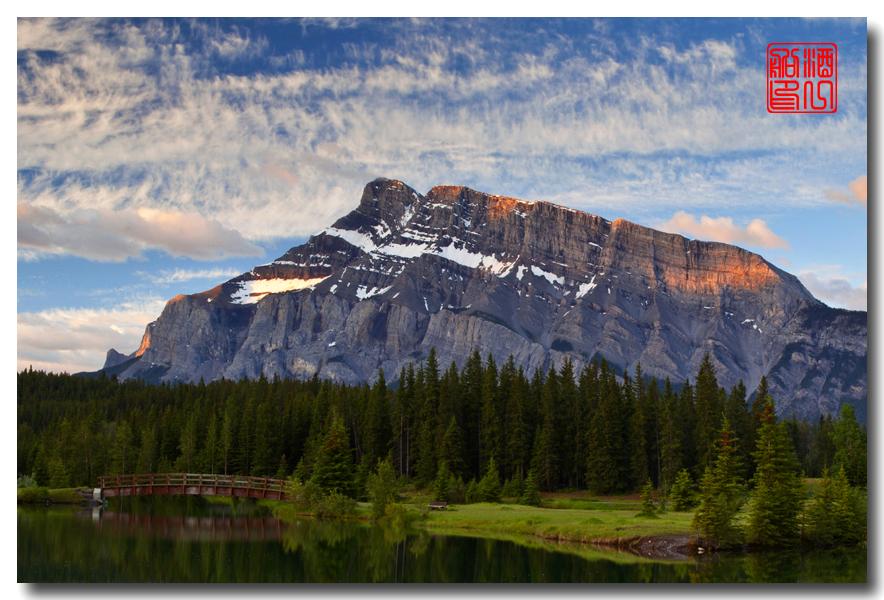 《原创摄影》:湖光山色落基行 - Banff 城边的湖_图3-16