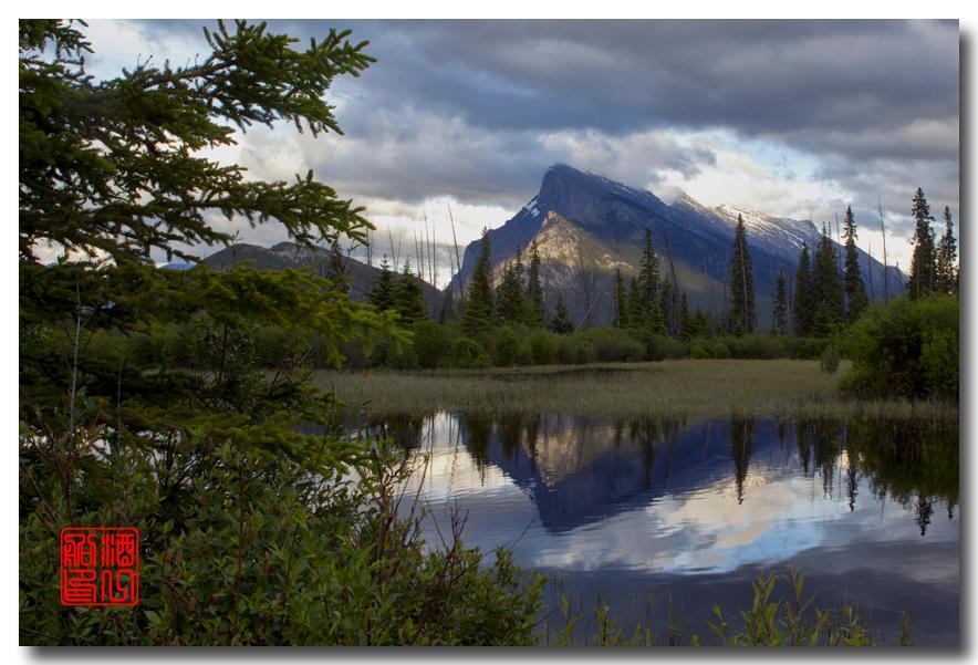《原创摄影》:湖光山色落基行 - Banff 城边的湖_图3-17