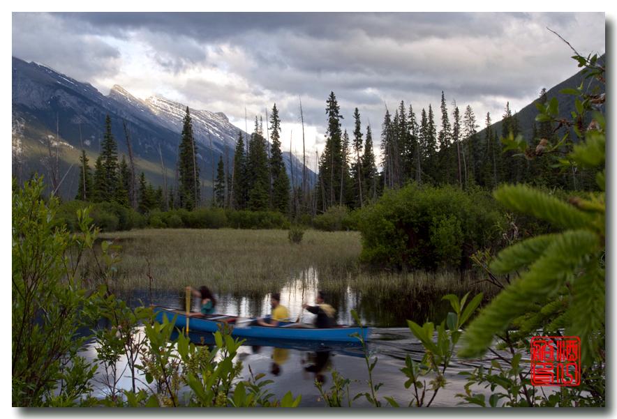 《原创摄影》:湖光山色落基行 - Banff 城边的湖_图3-18