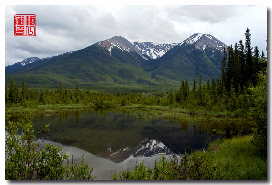 《原创摄影》:湖光山色落基行 - Banff 城边的湖_图3-22