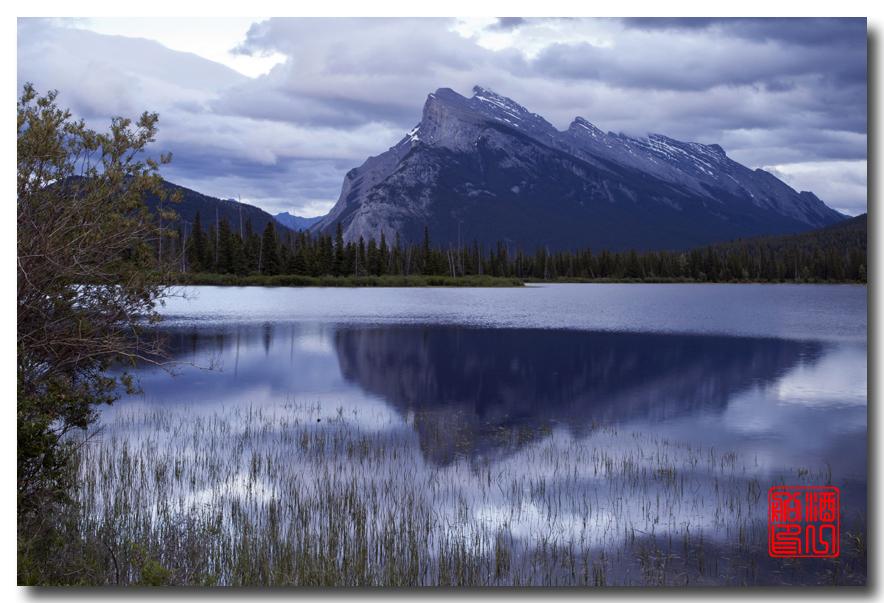 《原创摄影》:湖光山色落基行 - Banff 城边的湖_图3-19