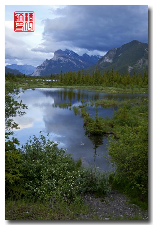 《原创摄影》:湖光山色落基行 - Banff 城边的湖_图3-20