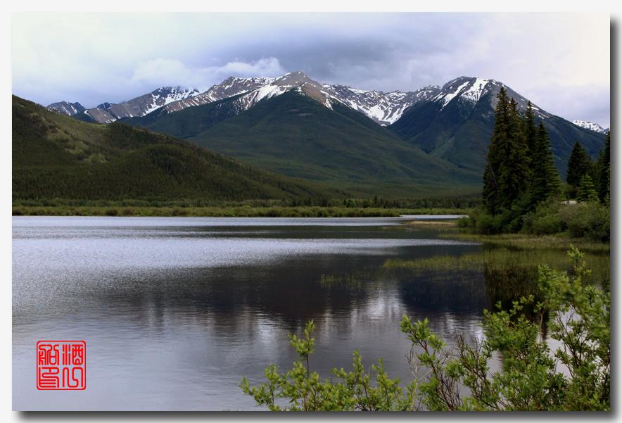 《原创摄影》:湖光山色落基行 - Banff 城边的湖_图3-23