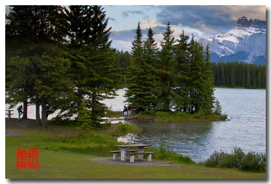 《原创摄影》:湖光山色落基行 - Banff 城边的湖_图3-11