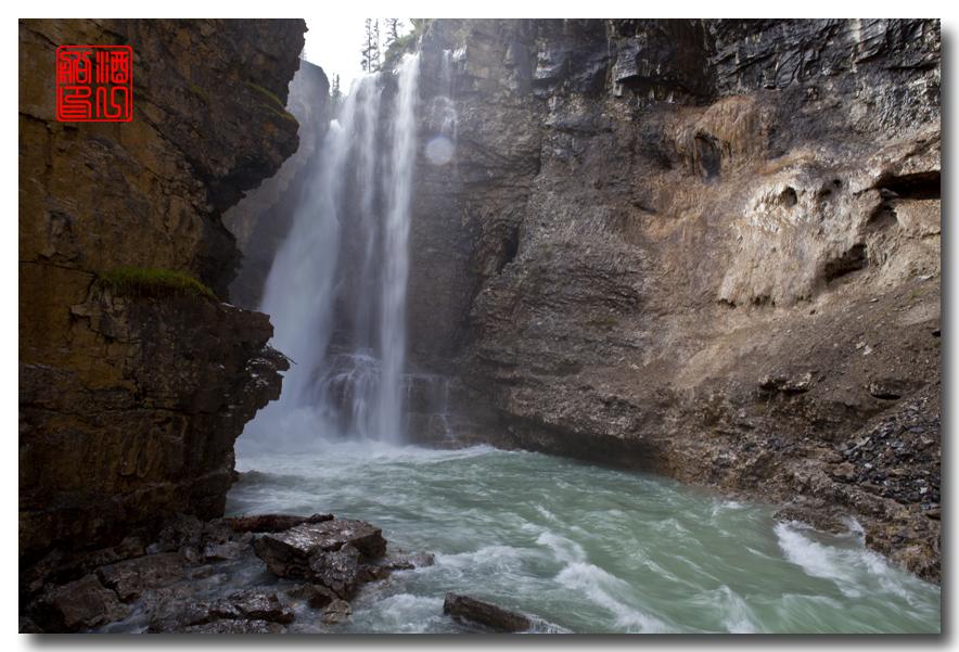 《原创摄影》:湖光山色落基行 - Johnston 峡谷_图1-1