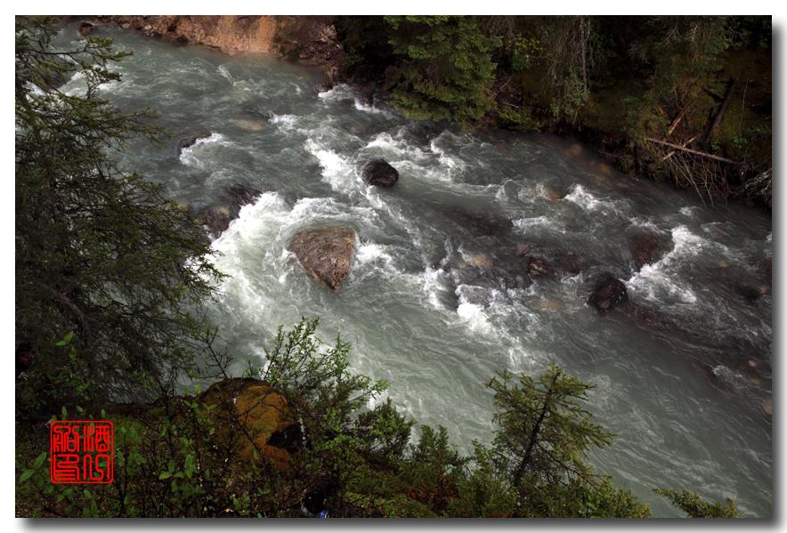 《原创摄影》:湖光山色落基行 - Johnston 峡谷_图1-2