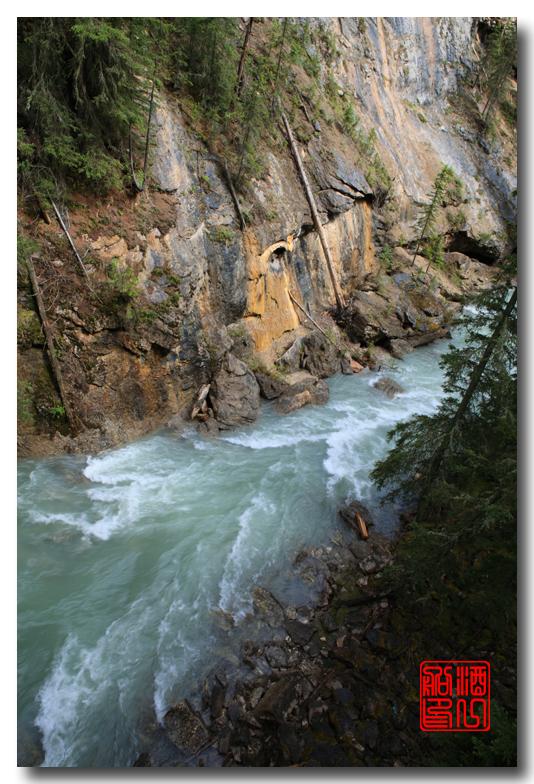 《原创摄影》:湖光山色落基行 - Johnston 峡谷_图1-3