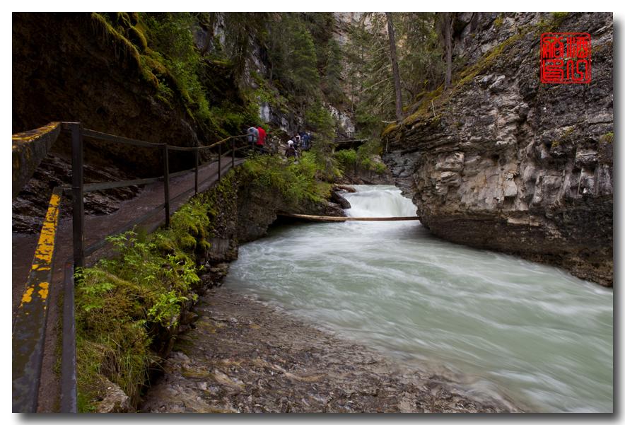 《原创摄影》:湖光山色落基行 - Johnston 峡谷_图1-7
