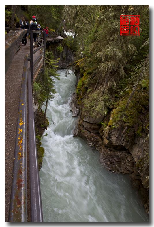 《原创摄影》:湖光山色落基行 - Johnston 峡谷_图1-8