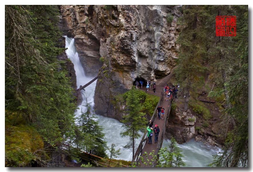 《原创摄影》:湖光山色落基行 - Johnston 峡谷_图1-10