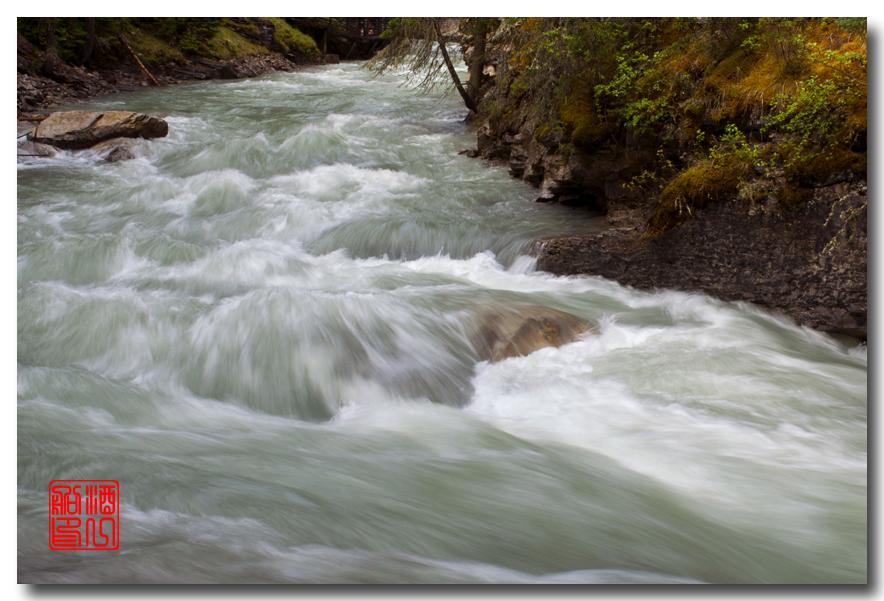 《原创摄影》:湖光山色落基行 - Johnston 峡谷_图1-11