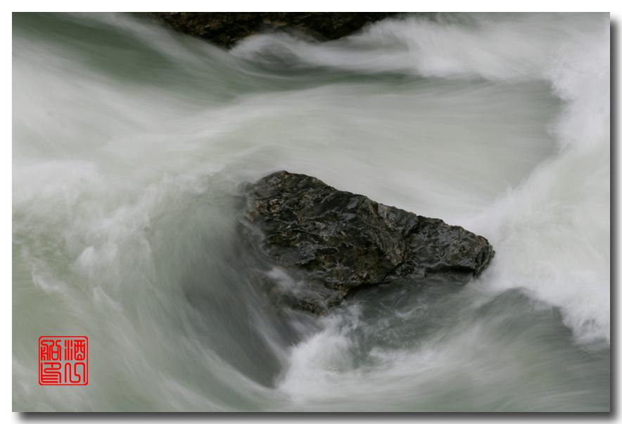 《原创摄影》:湖光山色落基行 - Johnston 峡谷_图1-17