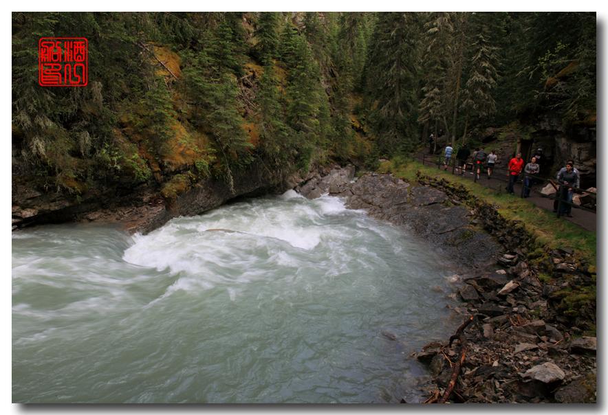 《原创摄影》:湖光山色落基行 - Johnston 峡谷_图1-18