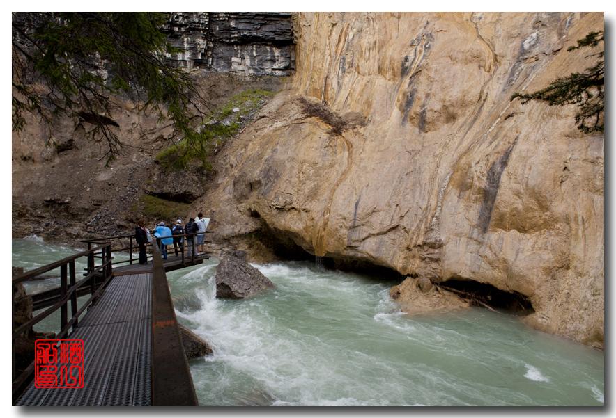 《原创摄影》:湖光山色落基行 - Johnston 峡谷_图1-22