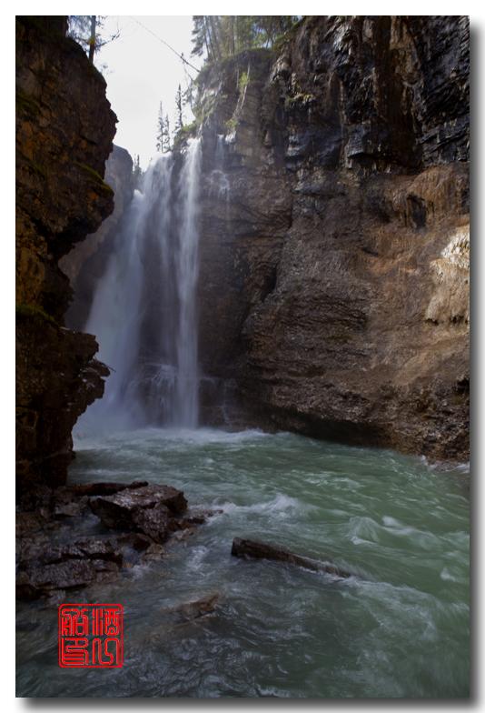 《原创摄影》:湖光山色落基行 - Johnston 峡谷_图1-23