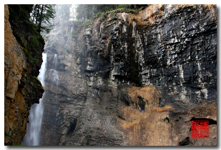 《原创摄影》:湖光山色落基行 - Johnston 峡谷_图1-24