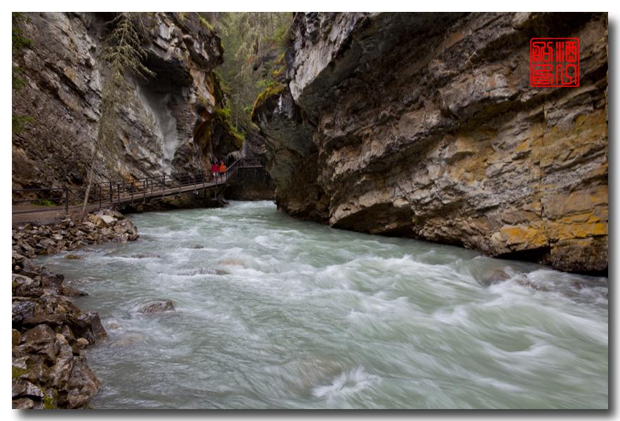 《原创摄影》:湖光山色落基行 - Johnston 峡谷_图1-27