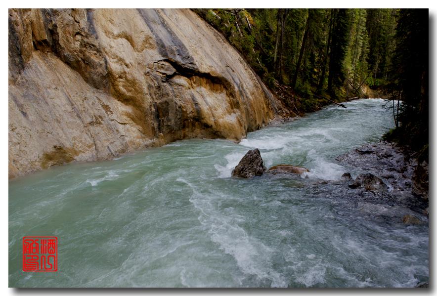 《原创摄影》:湖光山色落基行 - Johnston 峡谷_图1-28