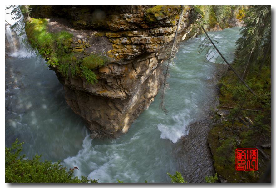 《原创摄影》:湖光山色落基行 - Johnston 峡谷_图1-29