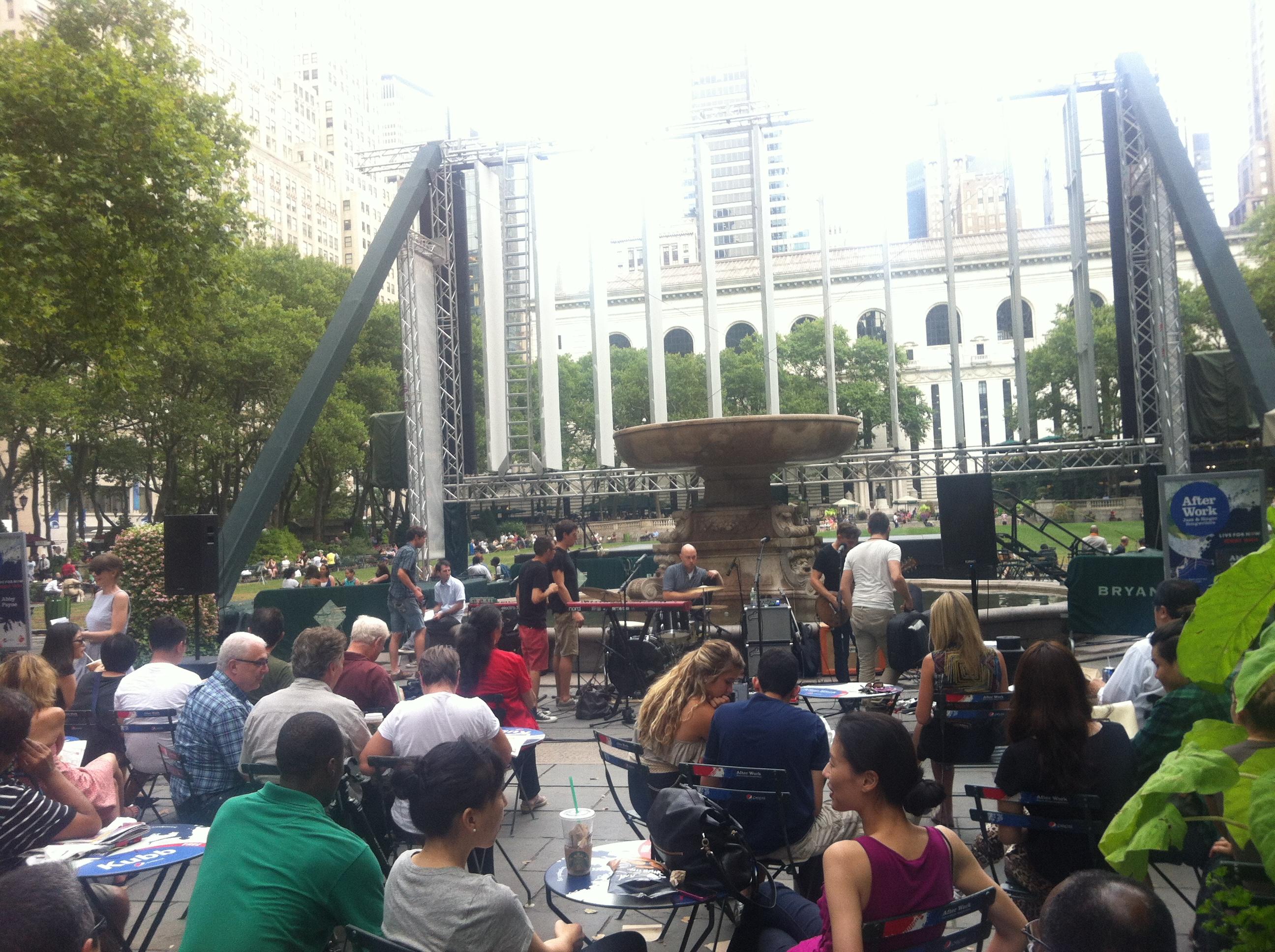纽约一景——bryant park_图1-3