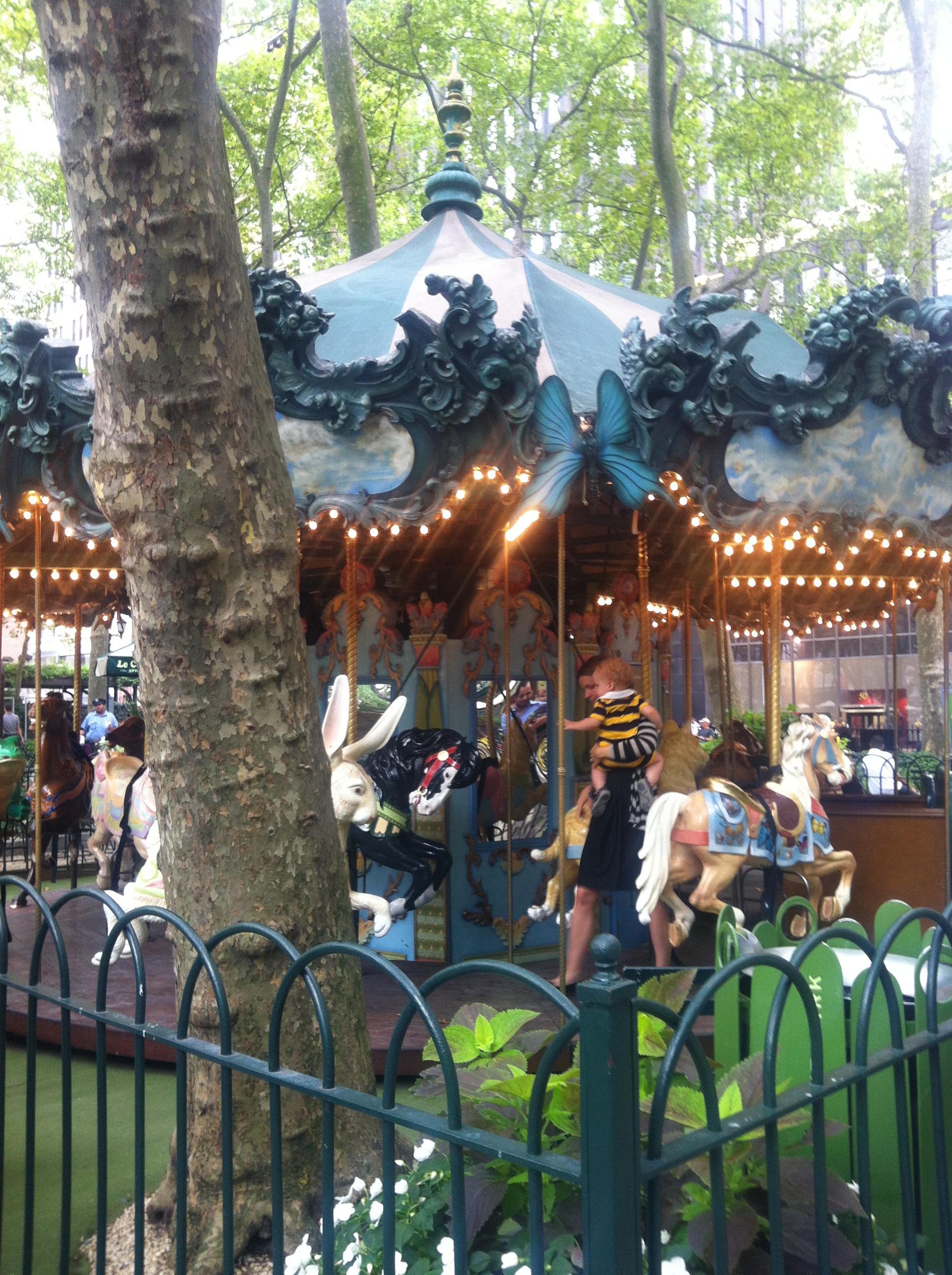 纽约一景——bryant park_图1-6