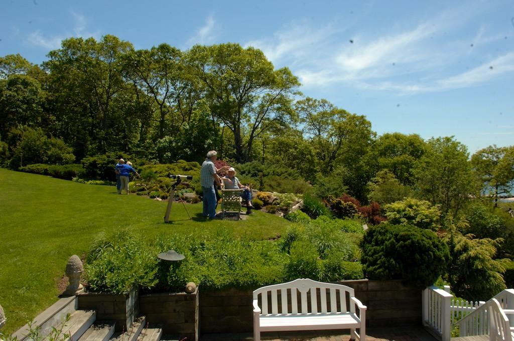 美國花園開放日(之二)-參觀長島北福克Nassau Point私家大院_图1-9