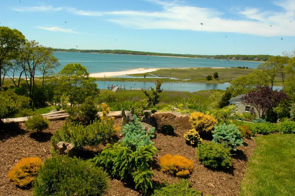 美國花園開放日(之二)-參觀長島北福克Nassau Point私家大院_图1-7