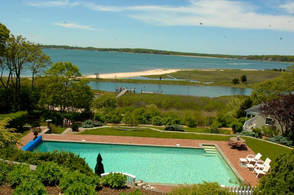 美國花園開放日(之二)-參觀長島北福克Nassau Point私家大院_图1-8