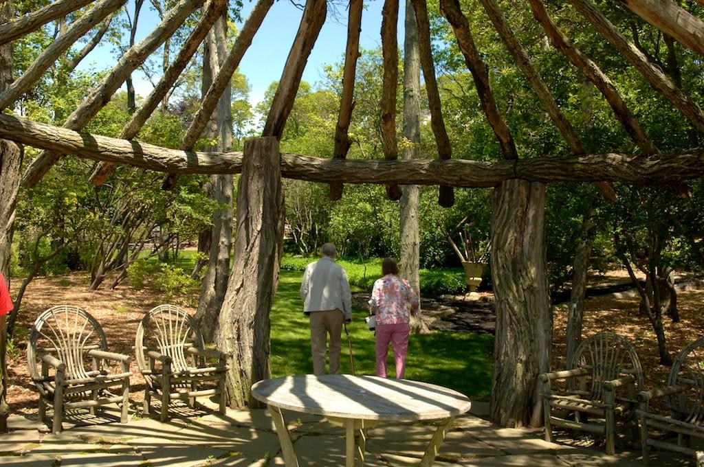 美國花園開放日(之二)-參觀長島北福克Nassau Point私家大院_图1-10