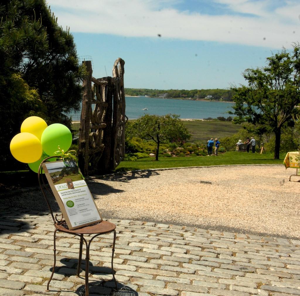 美國花園開放日(之二)-參觀長島北福克Nassau Point私家大院_图1-3