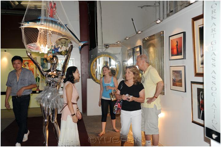【相机人生】鲜为人知的故事 — 玻璃艺术展中的趣事(331)_图1-56
