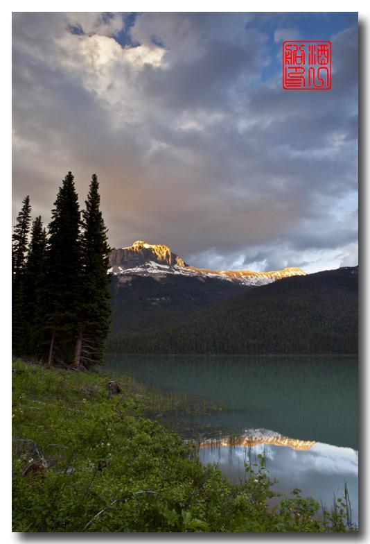 《原创摄影》:湖光山色落基行:幽鹤国家公园_图1-23