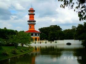 实拍漂亮的泰国夏日行宫